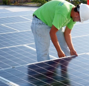 Lower Cost per Watt Solar Installations